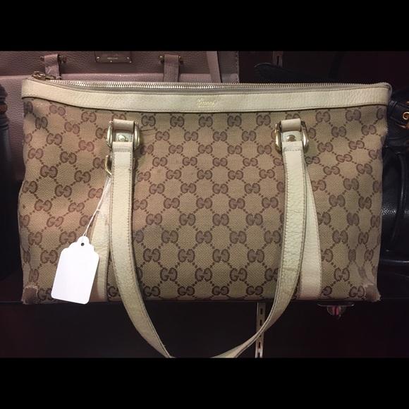 ca310d17b Gucci Handbags - Authentic GUCCI abbey d ring tote FINAL SALE!